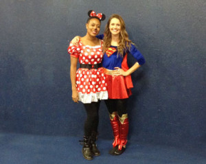 daisy-and-supergirl